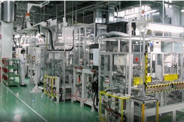 Manufaktur Asia. - .Reuters