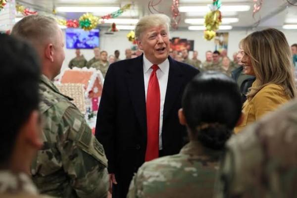 Trump kunjungi tentara AS di Irak - Reuters