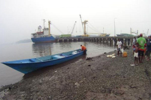 Pelabuhan Paumako. Foto: Antara