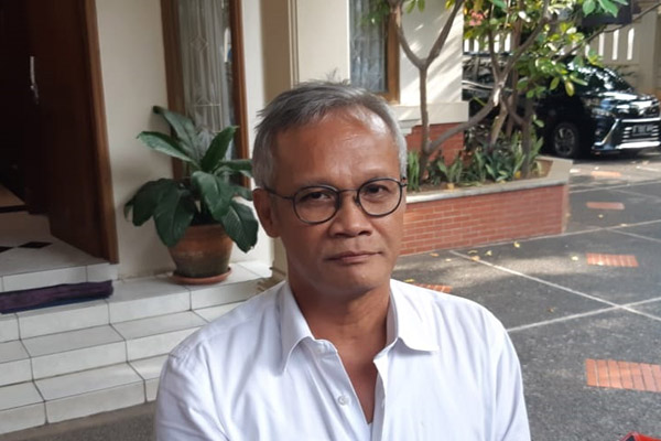 Aria Bima, Direktur Program Tim Kampanye Jokowi-Maruf Amin. - Bisnis/Muhammad Ridwan