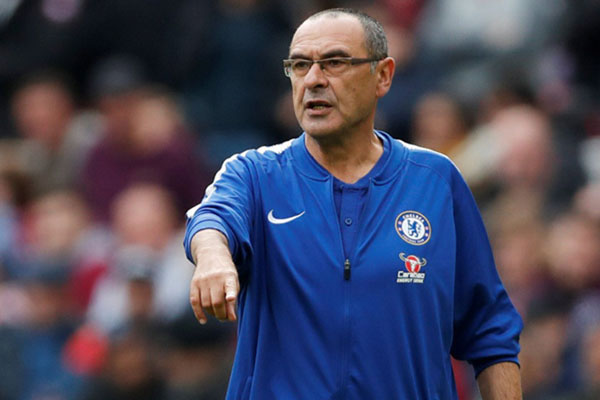 Pelatih Chelsea FC Maurizio Sarri - Reuters/Matthew Childs