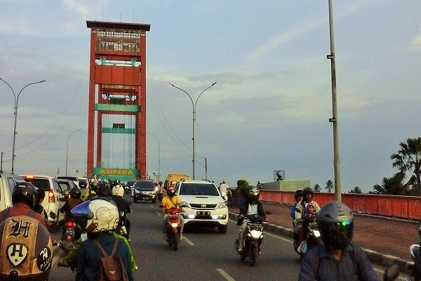 Jembatan Ampera, Palembang - Samdysara Saragih/Bisnis.com