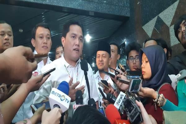 Ketua TKN Erick Thohir - Bisnis / Muhammad Ridwan