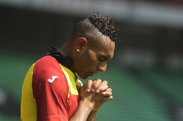 Titus Bonai ketika memperkuat Sriwijaya FC. - Antara
