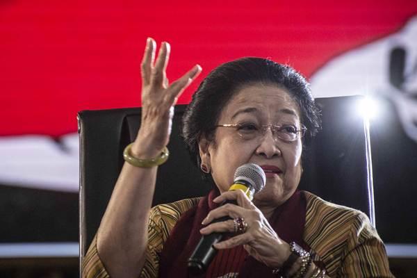 Ketua Umum DPP Partai Demokrasi Indonesia Perjuangan (PDIP) Megawati Soekarnoputri berbicara dalam acara Bu Mega Bercerita di Kantor DPP PDI Perjuangan, Jakarta, Senin (7/1/2019). - ANTARA/Aprillio Akbar