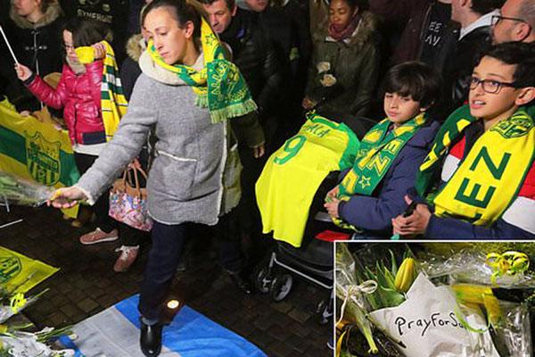 Doa dan duka mengalir untuk Emiliano Sala. - Twitter