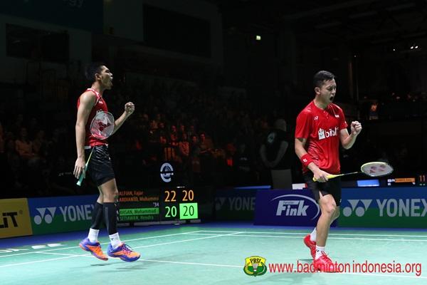 Fajar Alfian-Muhammad Rian Ardianto - Badminton Indonesia