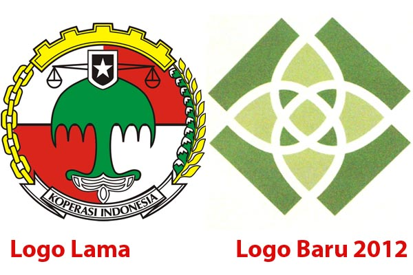 Perubahan logo koperasi sejak 2012