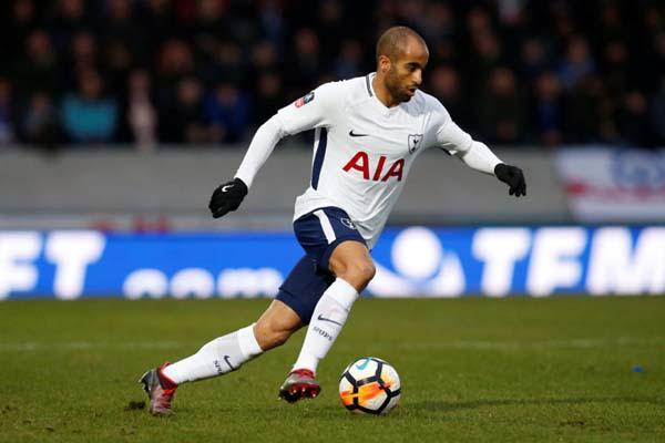 Penyerang sayap Tottenham Hotspur Lucas Moura - Reuters