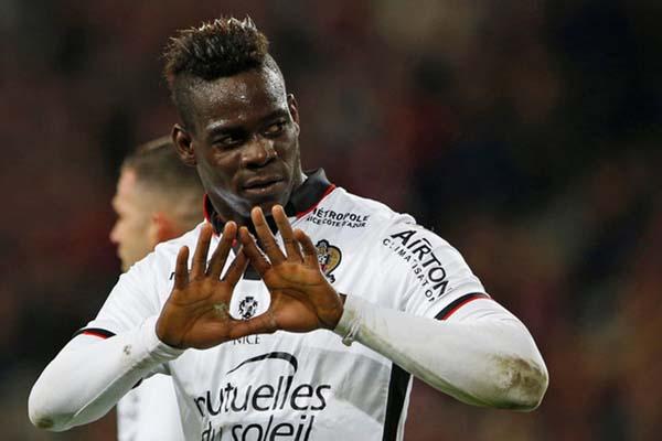 Mario Balotelli - Reuters/Pascal Rossignol