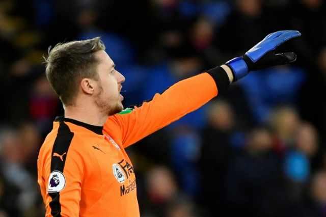 Kiper klub Crystal Palace Wayne Hennessey  - Reuters
