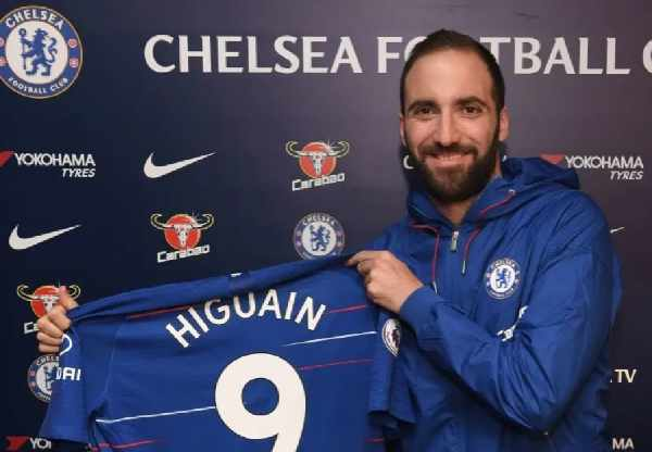 Striker Chelsea, Gonzalo Higuain - Fox sport