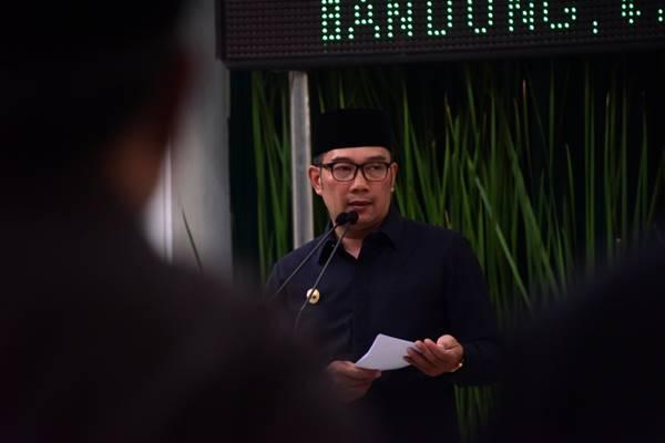 Gubernur Jawa Barat Ridwan Kamil. - Bisnis/Wisnu Wage