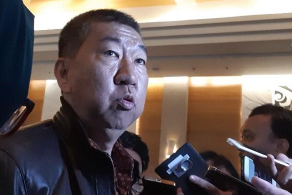 Sekretaris Jenderal Dewan Pimpinan Puaat Real Estate Indonesia Paulus Totok Lusida, usai acara Property Outlook 2019 Rumah123.com di Jakarta, Kamis (24/1/2019). (Mutiara Nabila - Bisnis)