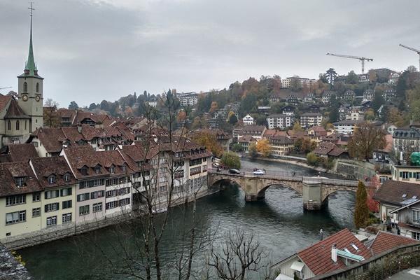 Pemandangan di Kota Bern, Swiss - Anggi Oktarinda