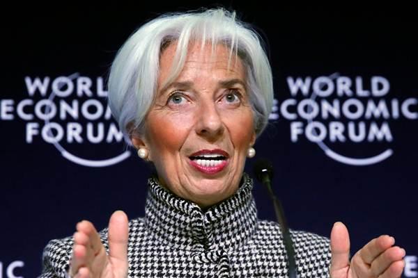 Direktur Pelaksana IMF Christine Lagarde. - REUTERS/Arnd Wiegmann