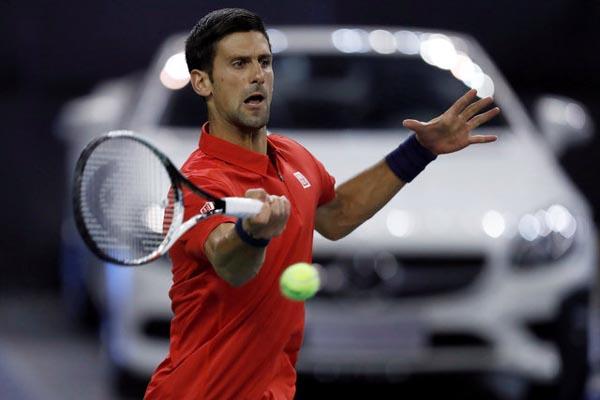 Petenis Serbia Novak Djokovic - Reuters/Aly Song