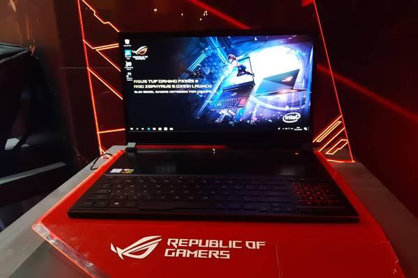 Perusahaan perangkat teknologi, Asus, kembali merilis produk terbaru dari lini gaming yaitu Asus Zephyrus S GX531. JIBI/BISNIS - Saiful Millah