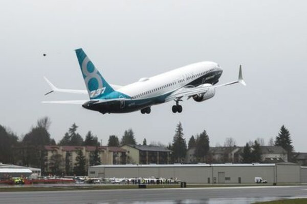 Boeing 737 MAX. - Reuters/Jason Redmond