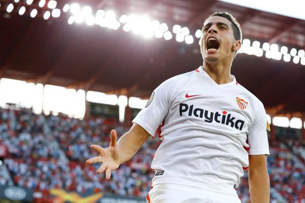 Penyerang Sevilla Wissam Ben Yedder - Reuters/Marcelo del Pozo