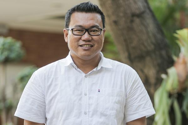 Direktur Utama Perusahaan Umum Perikanan Indonesia (Perum Perindo) Risyanto Suanda. - Bisnis/Felix Jody Kinarwan