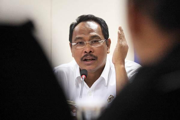 Wakil Ketua Badan Pemeriksa Keuangan (BPK) Bahrullah Akbar. - Bisnis.com/Dedi Gunawan