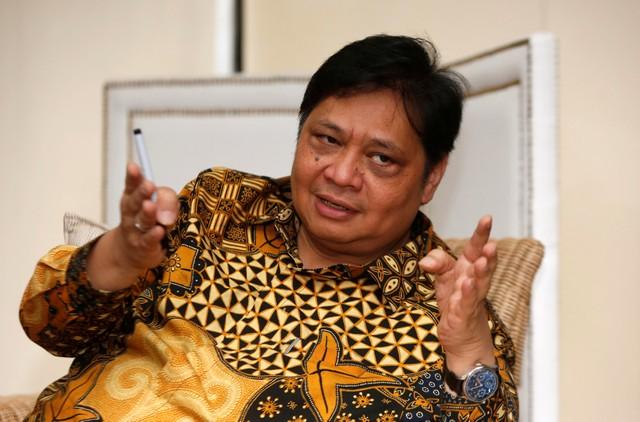 Menteri Perindustrian Airlangga Hartarto. - Reuters/Willy Kurniawan