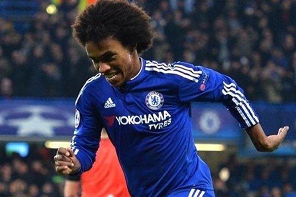 Gelandang serang Chelsea Willian Borges da Silva - UEFA.com