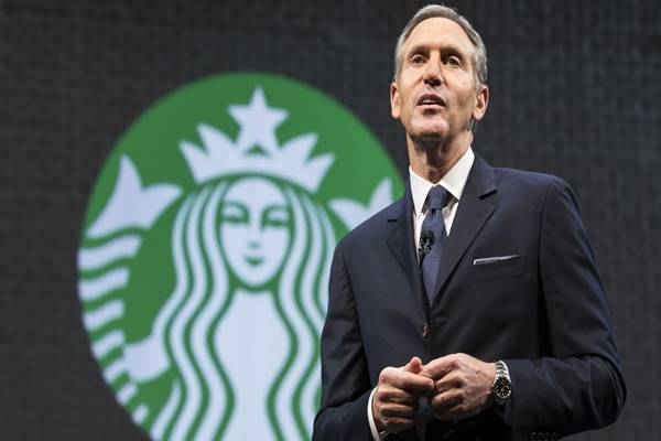 Mantan CEO Starbucks Howard Schultz - Istimewa