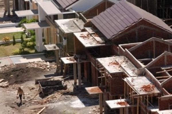 Ilustrasi pembangunan perumahan rakyat. - Antara