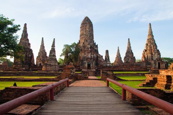 Kota kuno Ayutthaya, Thailand - topworldresort
