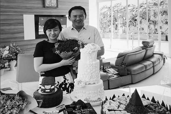 Basuki Tjahaja Purnama (Ahok) dan Veronica Tan. - Instgram @basukitp