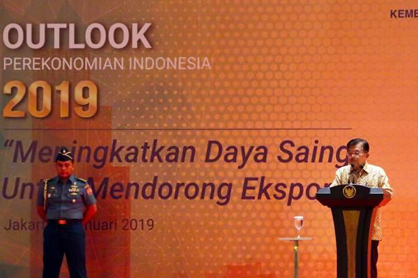 Wakil Presiden Jusuf Kalla - Bisnis/Abdullah Azzam