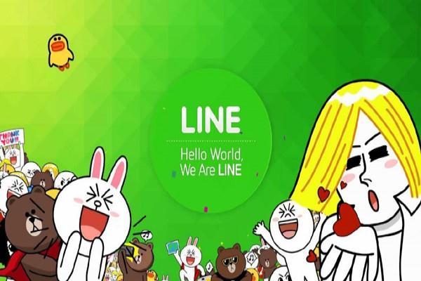 Aplikasi Line - line