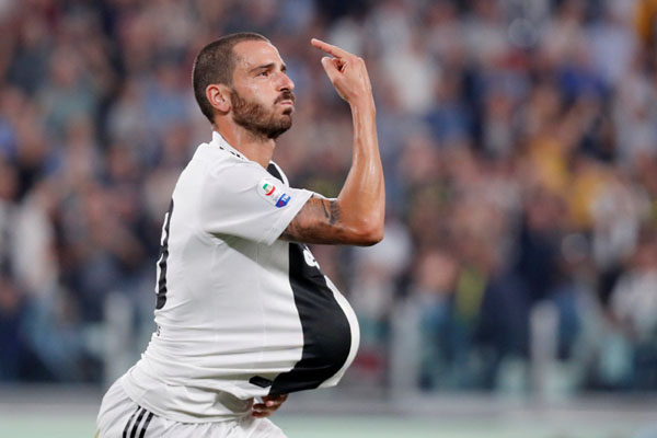 Bek Juventus Leonardo Bonucci - Reuters/Stefano Rellandini