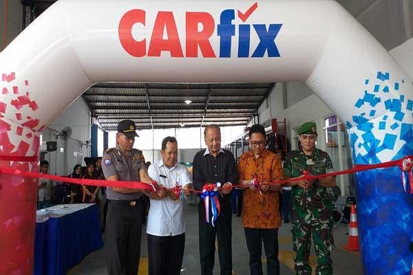 Pembukaan outlet CARfix terbaru di Kedungmundu, Semarang - Alif Rizki