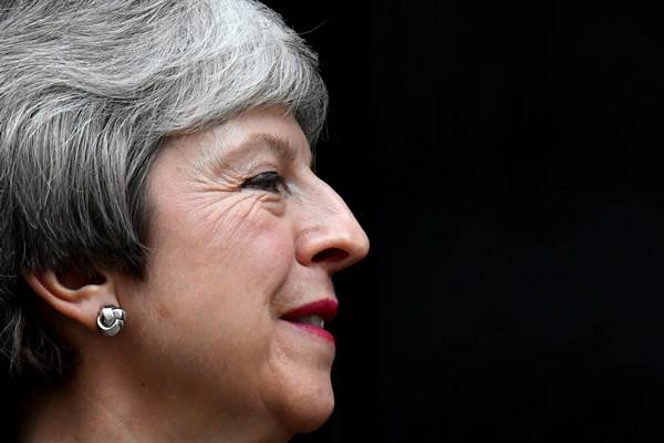 Perdana Menteri Inggris Theresa May. - REUTERS/Toby Melville