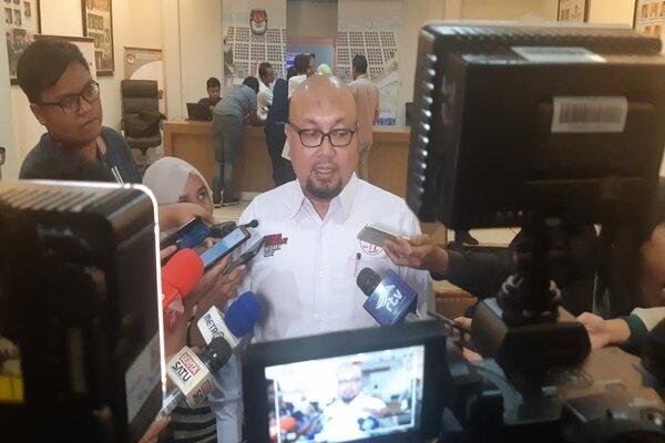 Komisioner Komisi Pemilihan Umum (KPU) Ilham Saputra.