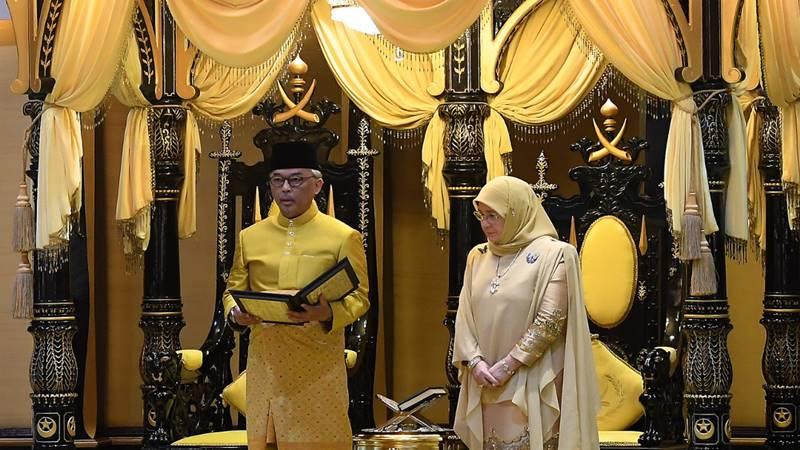 Raja baru Malaysia, Sultan Abdullah Sultan Ahmad Shah (kiri) akan naik tahta hari ini, Kamis (31/1/2019). - Istimewa