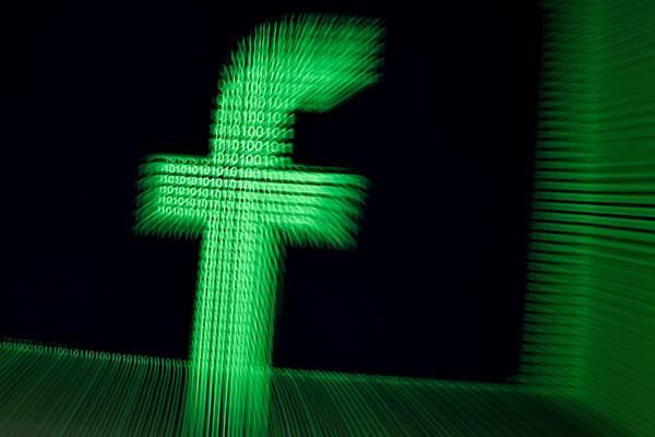 Logo Facebook dalam 3 dimensi - Reuters