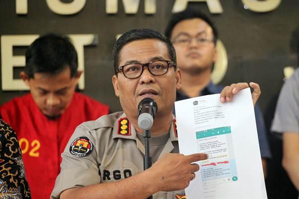 Kabid Humas Polda Metro Jaya Argo Yuwono. - ANTARA/Rachel Aritonang