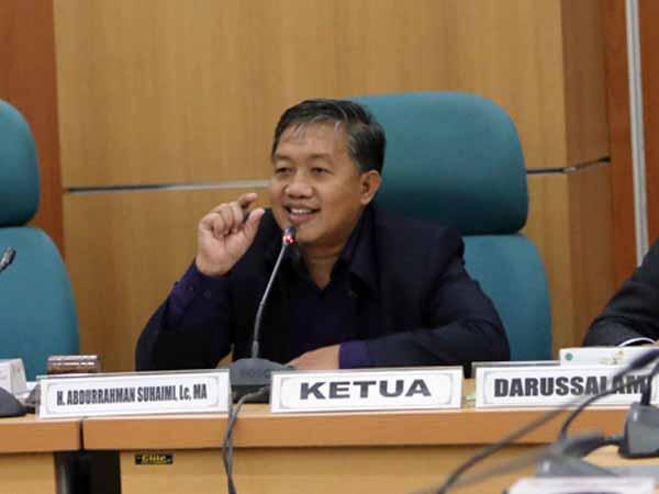 Ketua Fraksi PKS DPRD DKI Jakarta Abdurrahman Suhaimi  - PKS