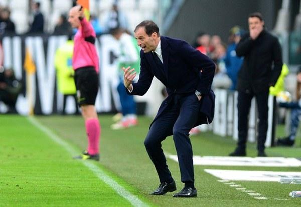 Pelatih Juventus, Massimiliano Allegri - Reuters