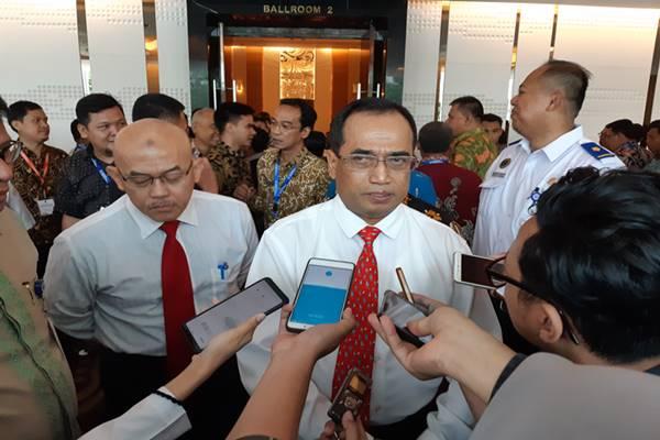 Menteri Perhubungan Budi Karya Sumadi. JIBI/BISNIS - Rinaldi Mohamad Azka