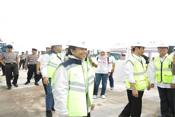 Menteri Rini Soemarno di Lampung, Kamis (31/1/2019)  -  Istimewa