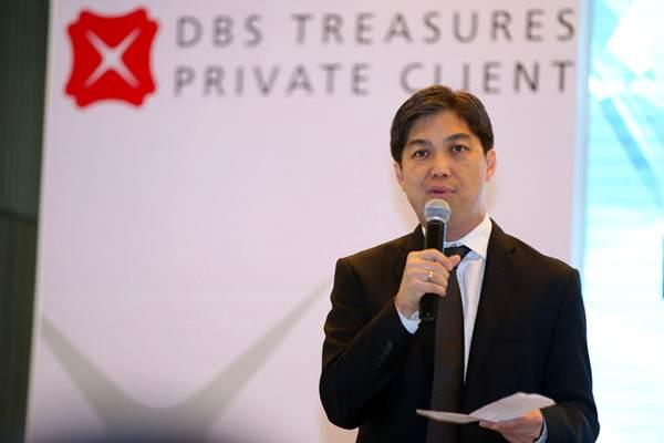 Presiden Direktur PT Bank DBS Indonesia Paulus Sutisna di sela-sela peluncuran layanan private banking di Jakarta, Kamis (19/7/2018). - JIBI/Abdullah Azzam