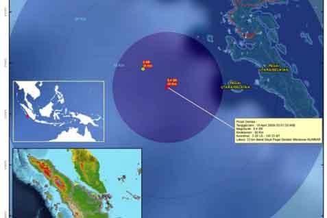 Ilustrasi Gempa Mentawai