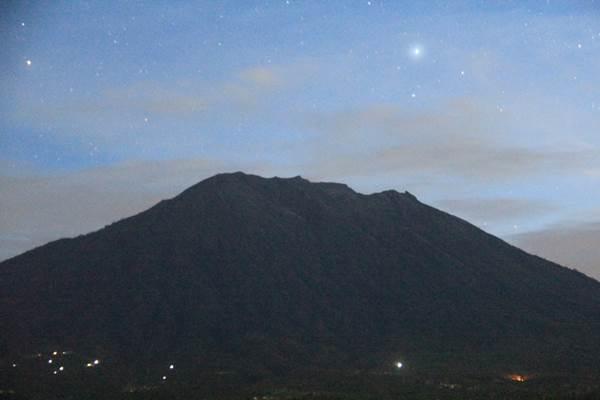 Gunung Agung Bali dipastikan tidak akan mengalami erupsi skala besar. - Dok. Badan Geologi Kementerian ESDM