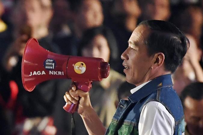 Calon Presiden nomor urut 01 Joko Widodo - ANTARA/Puspa Perwitasari
