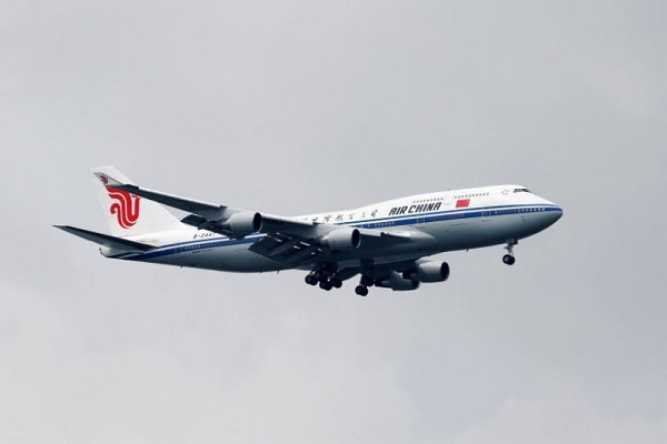 Air China Boeing 747-400 - Reuters